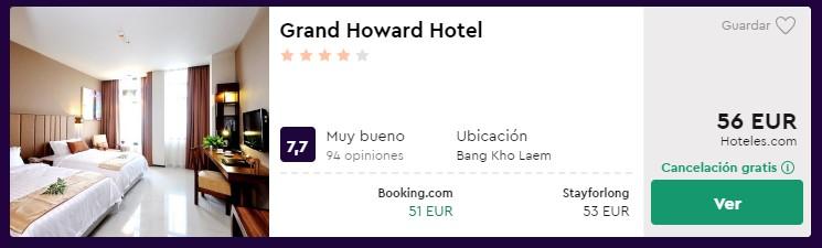 nochevieja en tailandia en hotel 4 estrellas desde 28 euros por persona y noche