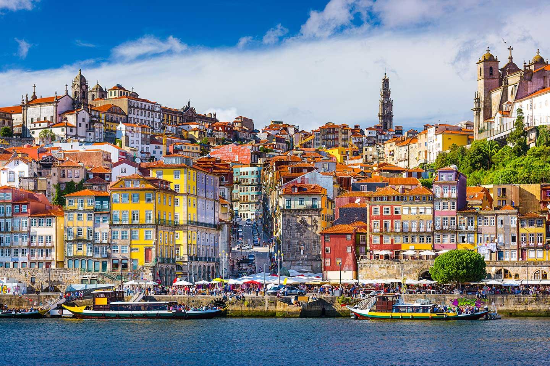 portugal oporto skyline