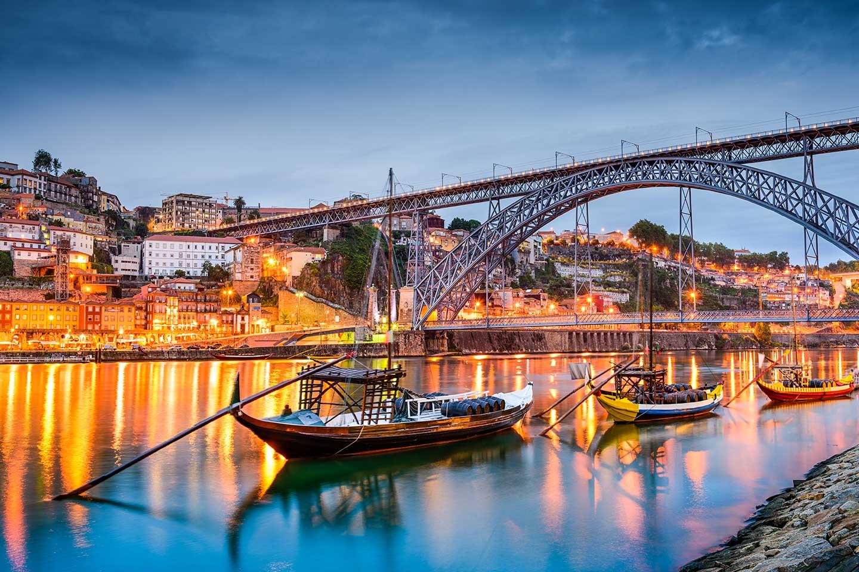 Viajar a Oporto, Portugal