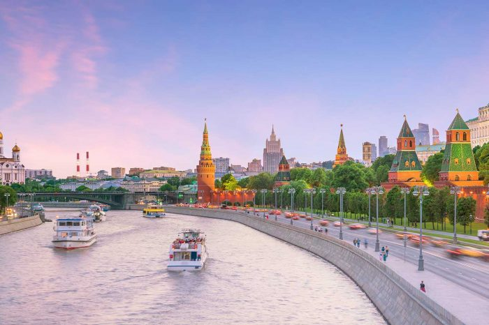Vuelos directos a Moscú desde 83€ trayecto