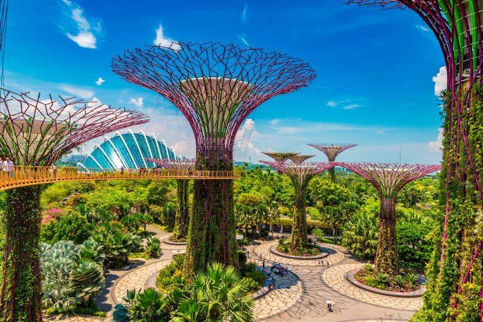 Vuela a Singapur desde 235€ trayecto