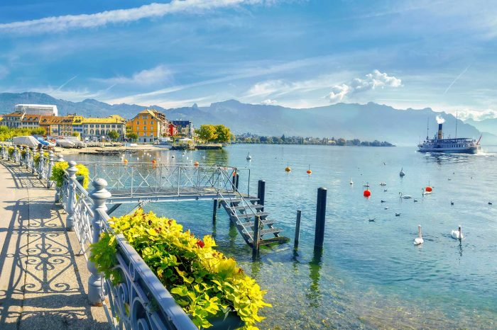 ¡Suiza en Agosto! Ginebra desde 36 euros trayecto