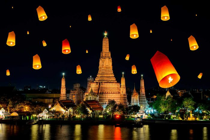 Descubre Tailandia para el Loy Krathong Festival
