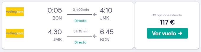 verano en grecia vuelos a mikonos desde 58 euros trayecto
