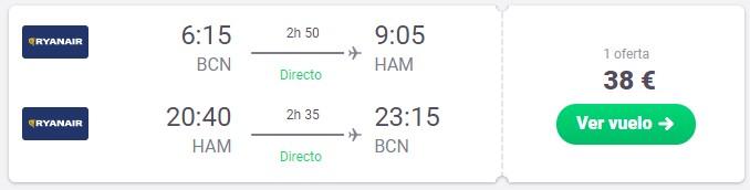 vuela a hamburgo en octubre, noviembre o diciembre desde 19 euros