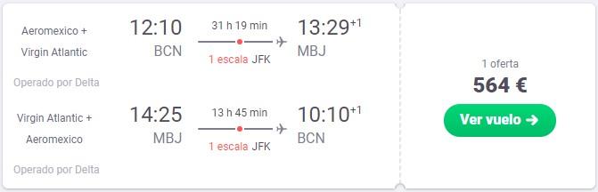 vuela a jamaica y nueva york desde barcelona desde solo 282 euros trayecto