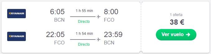 vuela a roma en septiembre desde 19 euros