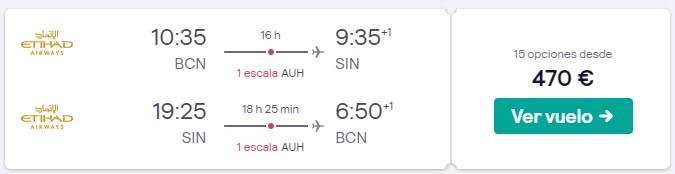 vuela a singapur en marzo desde 235 euros