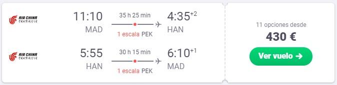 vuela a vietnam y pekin desde 215 euros trayecto