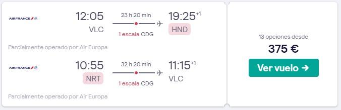 vuelo a japon y paris en febrero desde 187 euros trayaceto