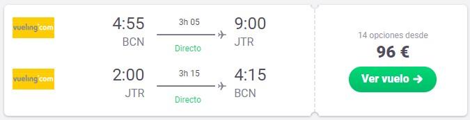 vuelo directo a santorini en marzo desde 48 euros trayecto