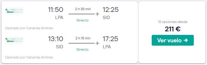 vuelos a cabo verde desde 105 euros trayecto en junio 2020