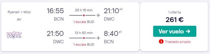 vuelos a dubai en febrero desde 130 euros trayecto