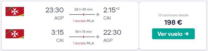 vuelos a egipto en el puente de mayo de 2020 desde 99 euros trayecto