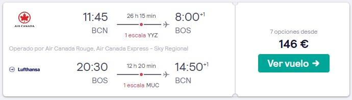 vuelos a estados unidos y canada en puente de mayo 2020 desde 73 euros trayecto