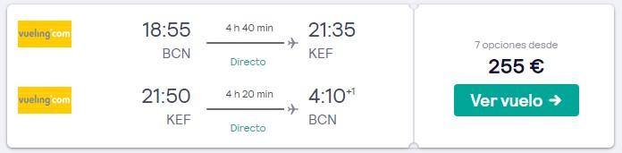 vuelos a islandia en mayo desde 127 euros trayecto