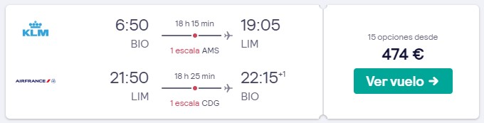 vuelos a peru en marzo desde 237 euros trayecto