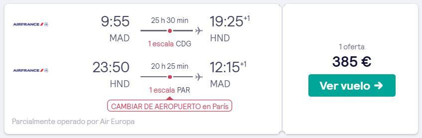 vuelos a tokio en nochevieja 2019 desde 192 euros