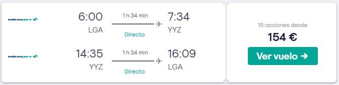 vuelos directos a canada en semana santa 2020 desde 77 euros trayecto