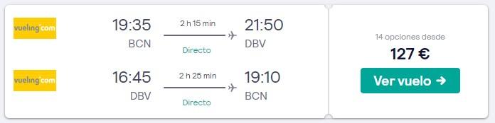 vuelos directos a croacia en verano 2020 desde 63 euros trayecto
