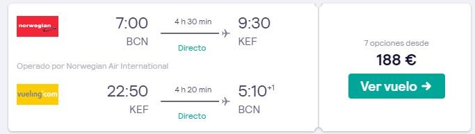 vuelos directos a islandia en el puente de octubre de 2020 desde 94 euros trayecto
