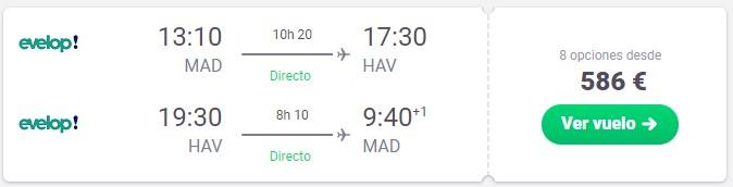 vuelos directos a la habana cuba desde 293 euros trayecto