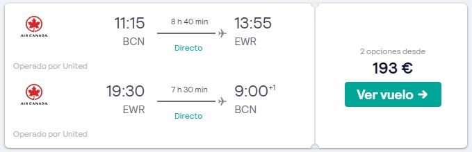 vuelos directos a nueva york en semana santa 2020 desde 96 euros trayecto